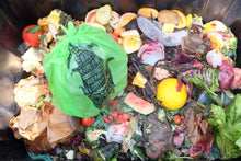 Load image into Gallery viewer, 3 Gallon<br>Compostable Food Scrap Bags - Commit to Green™