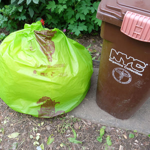 33 Gallon <br>Compostable Trash Liners, <br>Lawn & Leaf Yard Waste Bags - Commit to Green™