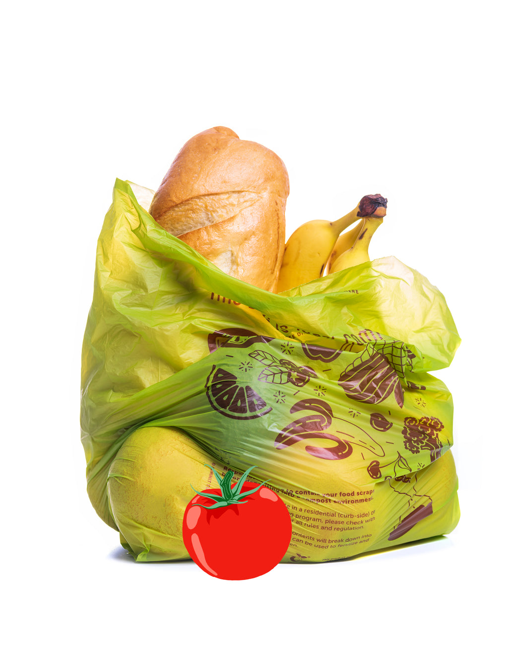 Compostable <br>Produce Bag on a Roll