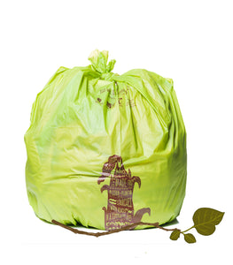 Compostable Trash & Yard Waste Bags<br>33 Gallon