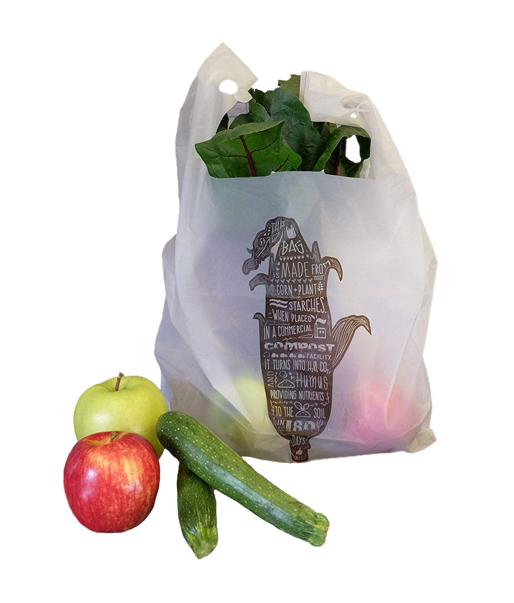 Compostable Tsac/Shopping Bag<br> Corn