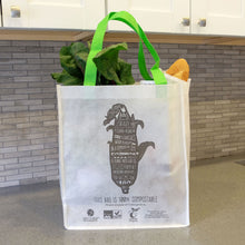 Load image into Gallery viewer, Compostable <br>Non-Woven Reusable Bag <br> Set of 3 Bags - Commit to Green™