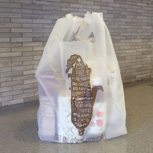 Compostable T-sac/Shopping Bag<br>Corn - Commit to Green™