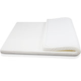 Visco Elastic Memory Foam Mattress Topper 7cm King Single