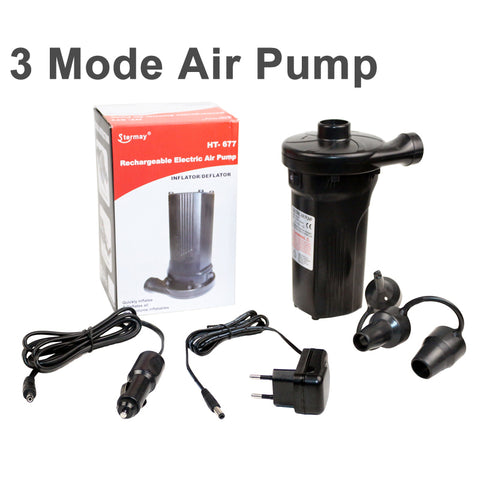 multi-fuction AC DC air pump for inflatable item electric pump car lighter inflation pump for air mattress inflatabl boat bed