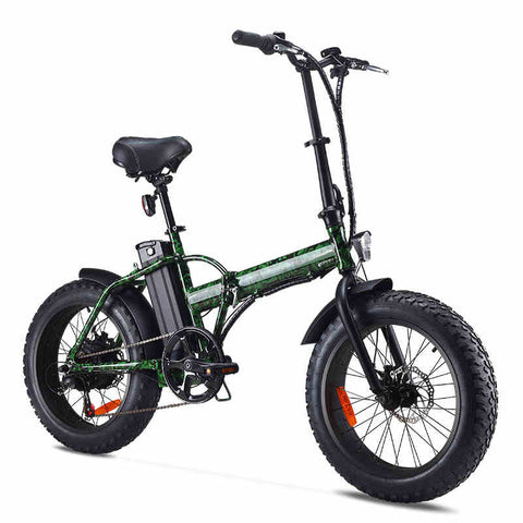20inch Mini folding mini electric bike 48V lithium 4.0tire adult scooter beach off the road Electric mountain bike snowmobile