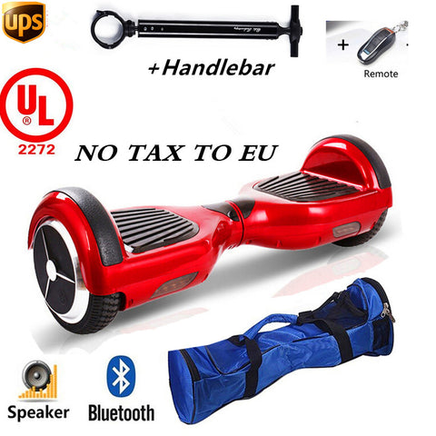 2017 Brand New Electric Scooter Skateboard Oxboard Hoverboard for Adults with  Handle Bar