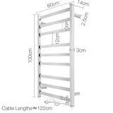 Electric Heated Towel Rail - Large