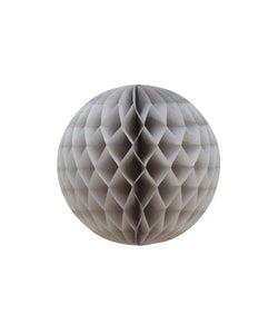 10CM GREY ROUND HONEYCOMB