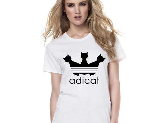 Cute Cat Adicat T-shirt |PawRawrCollection