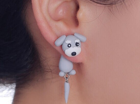 Handmade Cute Animals Clay Earrings [3FOR2] |PawRawr