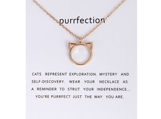 Purfect Cat Ears Necklace | PawRawrCollection