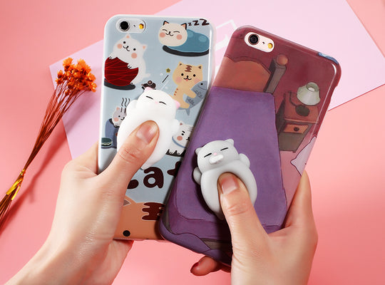 FREE SHIPPING| Squishy Cat iPhone Case Cover