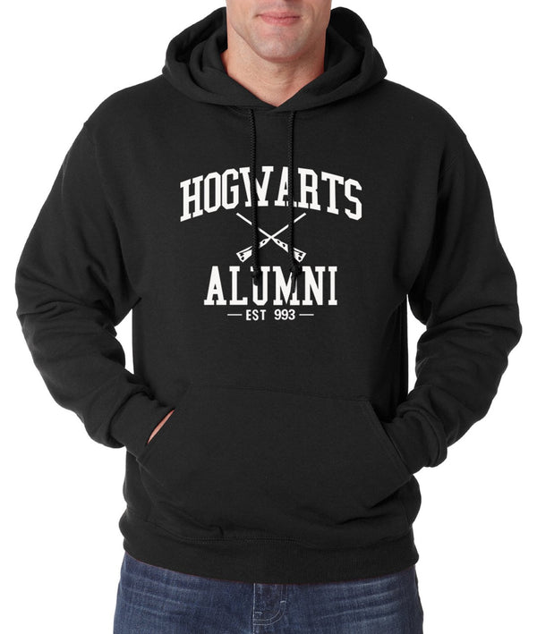 Harry Potter Hogwarts Alumni Hoodie (Many Variants Available)