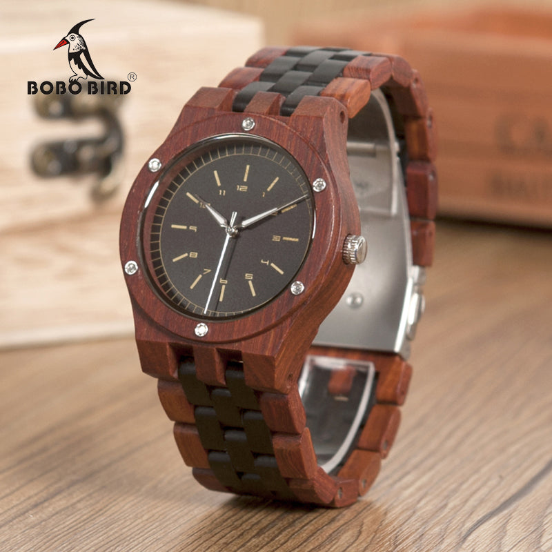 BOBO BIRD WN18 Wooden Watch with Wooden Band