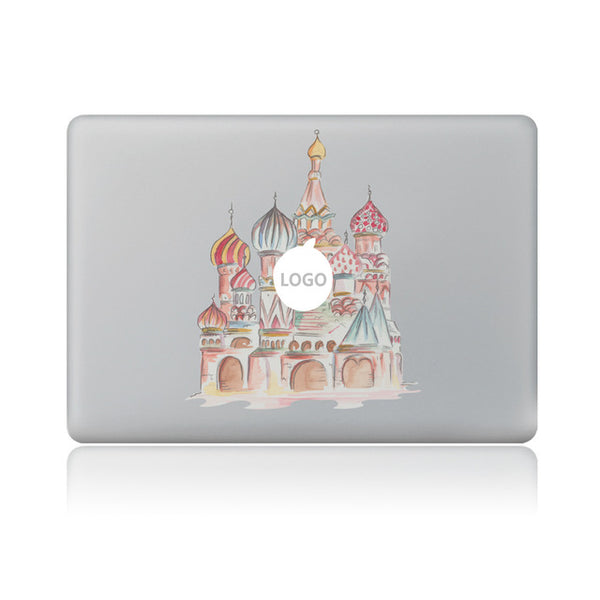 Removable Colorful Sticker Decals for Macbook 11 13 15 (Many Variants & iPhone Sizes Available)