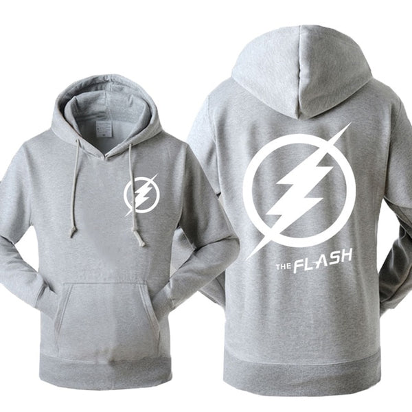 The Flash Logo Fleece Hoodie (Many Variants Available)