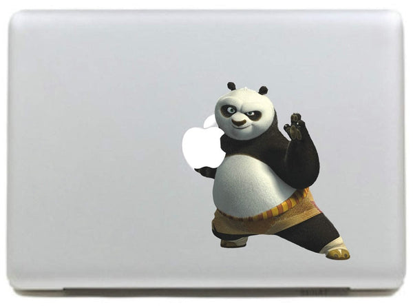 Removable Kung Fu Panda Decal for Macbook Pro/Air 11 13 15
