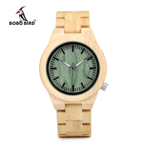 BOBO BIRD WP12 Hot Bamboo Wooden Watch for Women