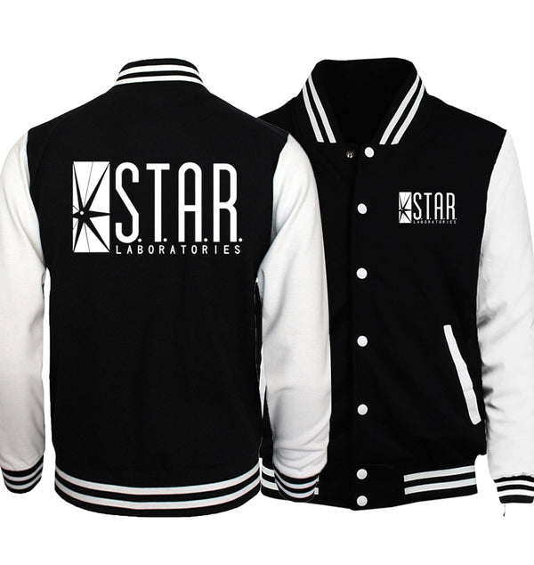 S.T.A.R. Labs Baseball Jacket (Unisex) (Many Variants Available)