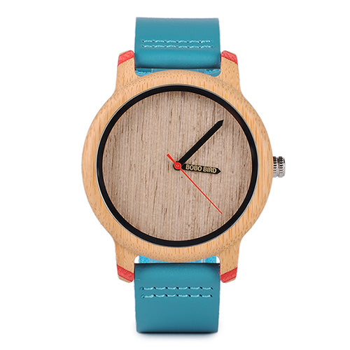 BOBO BIRD Timepieces Bamboo Watches for Men and Women Luxury Quartz Wristwatches with Leather Straps In Wooden Gifts Box