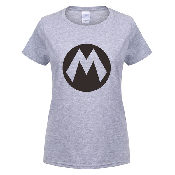 Super Mario Cotton Women's T-Shirt (Many Variants Available)