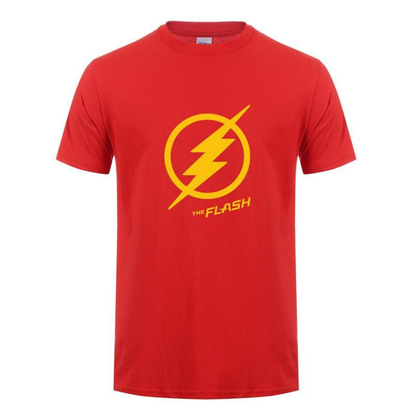 The Flash Lightning Bolt Cotton T-Shirt (Many Variants Available)