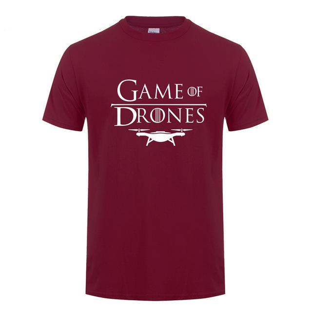 Game of Drones Cotton T-Shirt (Many Variants Available)