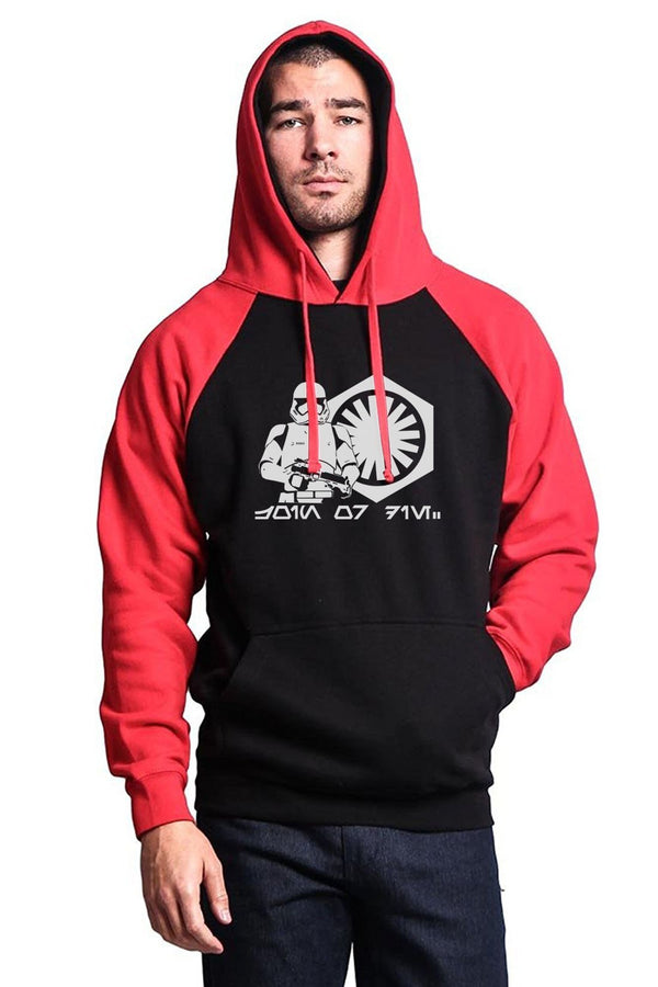 Star Wars Storm Trooper Raglan Hoodie (Many Variants Available)