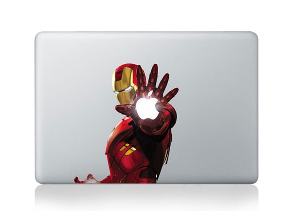 Removable Iron Man Vinyl Decal for MacBook 11 12 13 15 (Many Variants!)