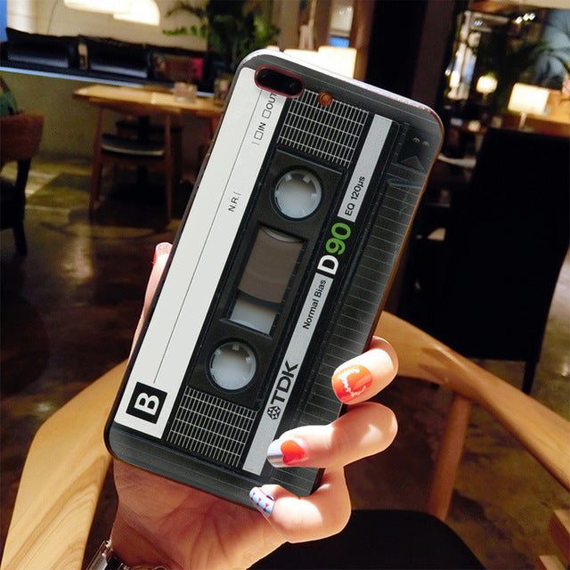 Retro Cassette Tapes iPhone Cases (Many Variants & iPhone Sizes Available)