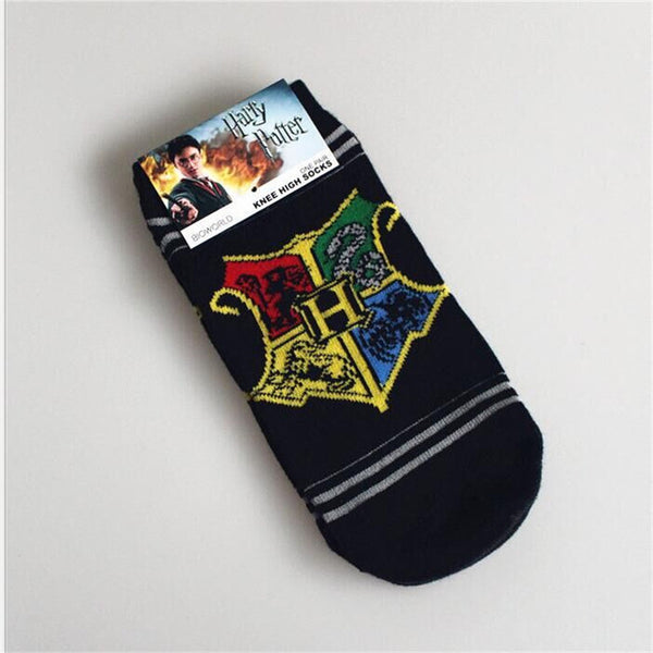 Harry Potter Ankle Socks (Cotton & Breathable) Comes in all house colors!