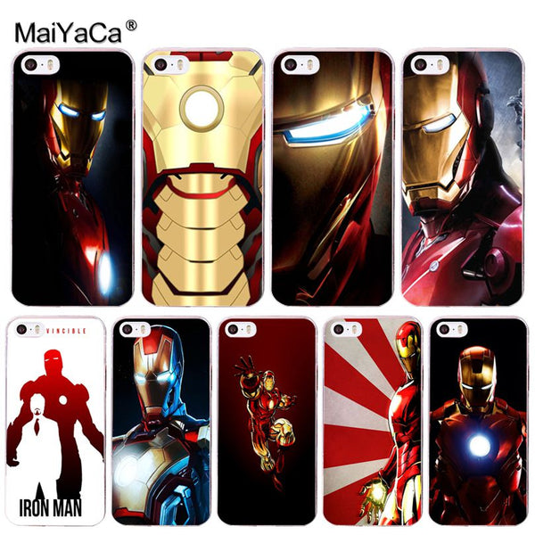 Iron Man iPhone Cases (Many Variants & iPhone Sizes Available)