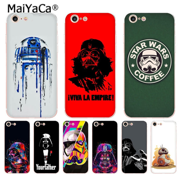 Star Wars iPhone Cases Collection 2 (Many Variants & iPhone Models Available)