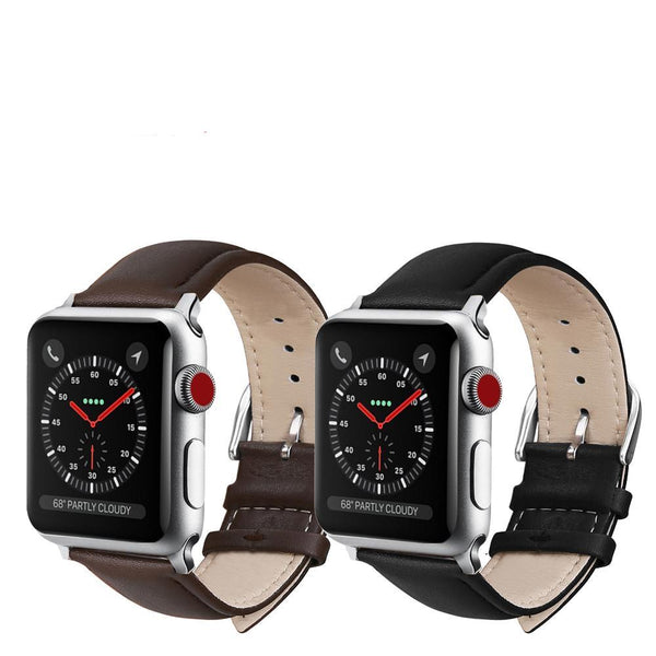 Leather Band For Apple Watch (Many Variants & Apple Watch Sizes Available)
