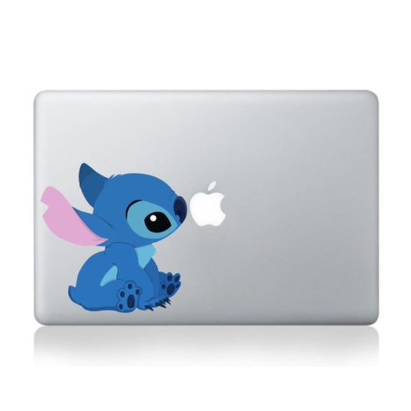 Stitch Removable Vinyl Sticker Decal for Macbook 11 12 13 15 inch (Many Variants!)