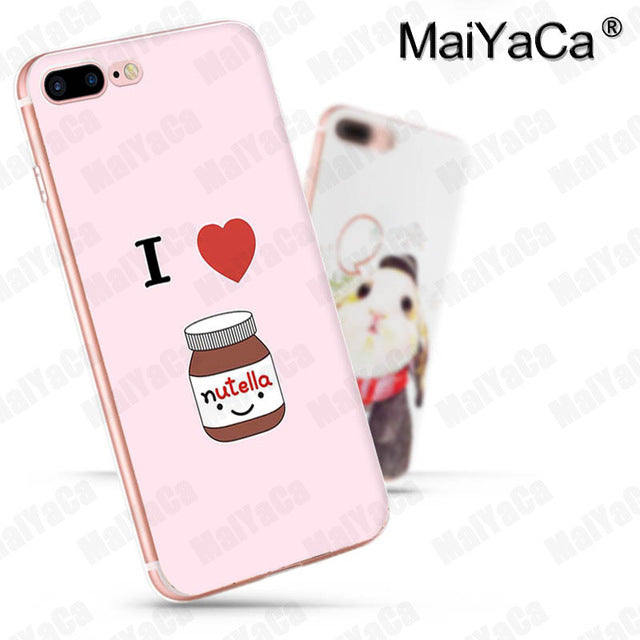 Foodie Nutella iPhone Cases (Many Variants & iPhone Sizes Available)