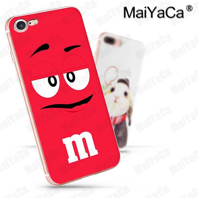 Foodie M&M Chocolates iPhone Cases (Many Variants & iPhone Sizes Available)