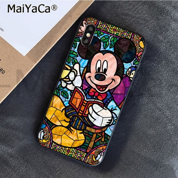 Disney Stained Glass iPhone Cases Collection 2 (Many Variants & iPhone Models Available)