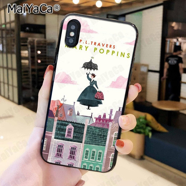 Mary Poppins iPhone Cases (Many Variants & iPhone Sizes Available)