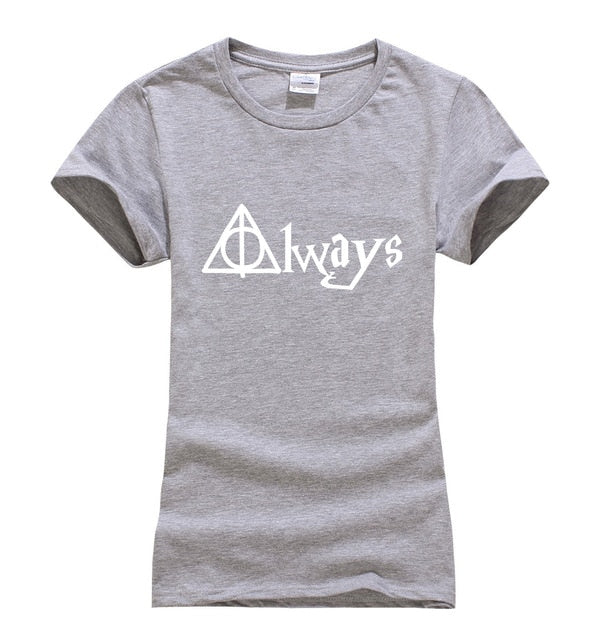 Harry Potter Always Cotton Women's T-Shirt (Many Variants Available)