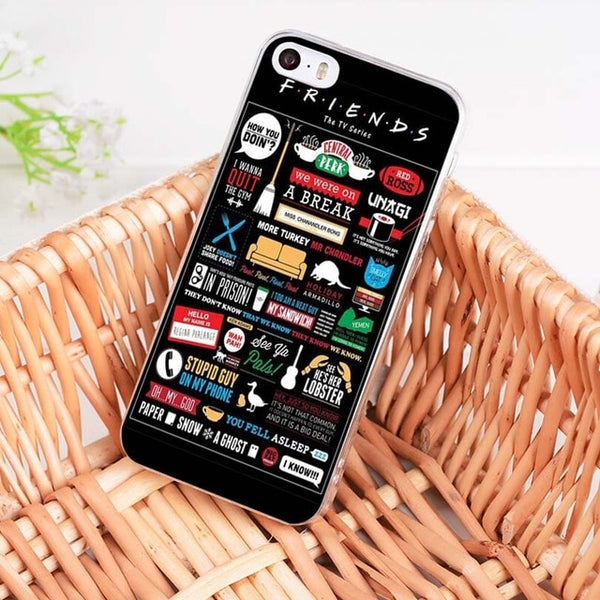 Friends iPhone Cases Collection 1 (Many Variants & iPhone Sizes Available)