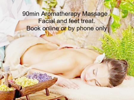 Gift Card 90 min Massage Facial and feet treat, Conditions apply.