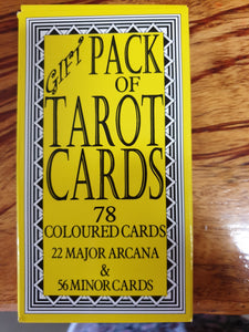 Tatot Card deck.