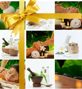 Gift Card Voucher Escape Package 2.5hrs Pampering and rejuvination.
