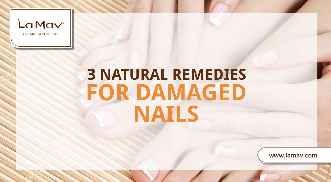 3 Natural Remedies For Damaged Nails