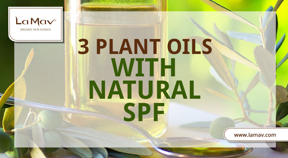 3 Plant Oils With Natural SPF