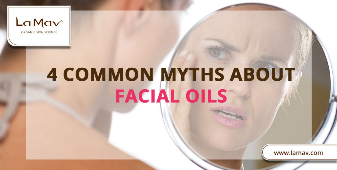 4 Common Myths about Facial Oils