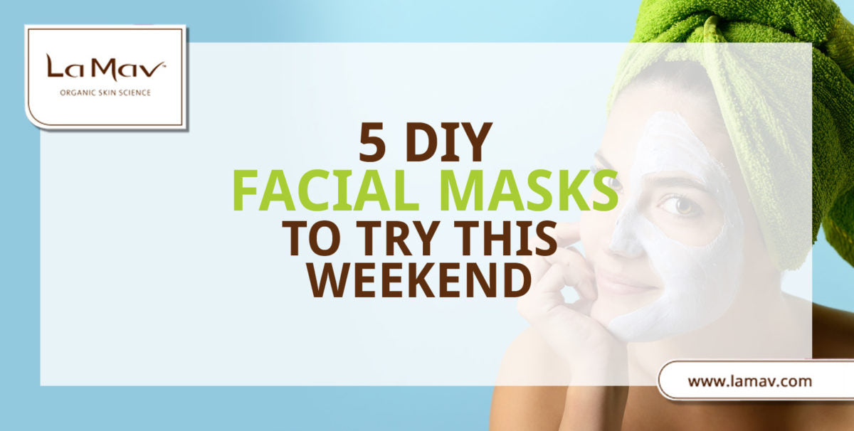 5 DIY Facial Masks to Try This Weekend