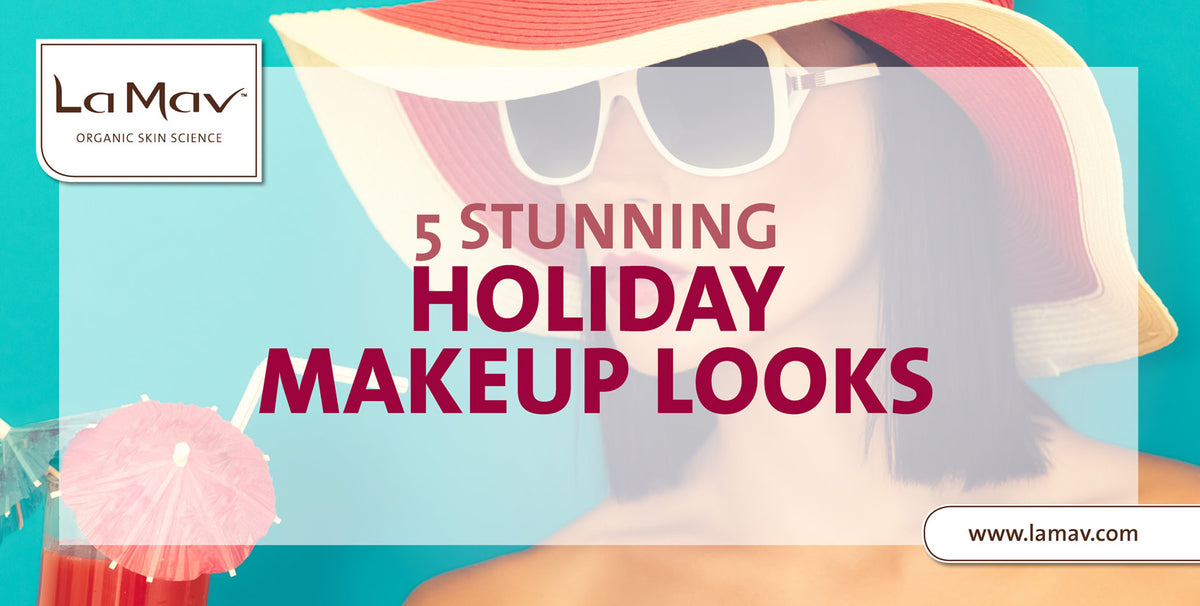 5 Stunning Holiday Makeup Looks
